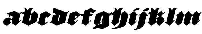 Lux Contra Tenebras Italic Font LOWERCASE