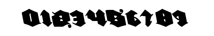 Lux Contra Tenebras Leftalic Font OTHER CHARS
