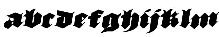 Lux Contra Tenebras Rotatalic Font LOWERCASE