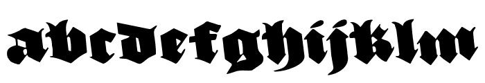 Lux Contra Tenebras Rotated Font LOWERCASE