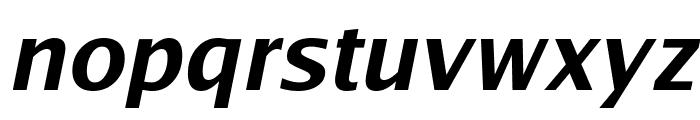 Luxi Sans Bold Oblique Font LOWERCASE