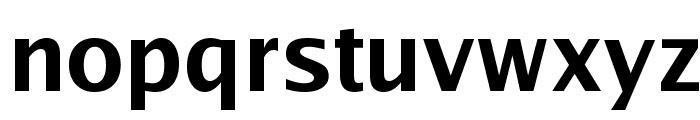 Luxi Sans Bold Font LOWERCASE