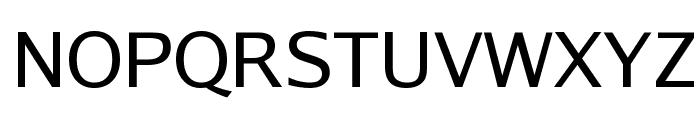 Luxi Sans Regular Font UPPERCASE