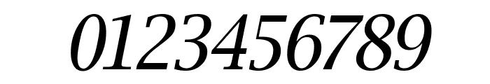 Luxi Serif Oblique Font OTHER CHARS