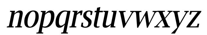 Luxi Serif Oblique Font LOWERCASE