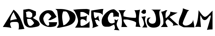 Luxo Font UPPERCASE