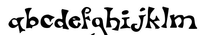 Luxo Font LOWERCASE