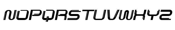 Lunarmax-BoldItalic Font UPPERCASE