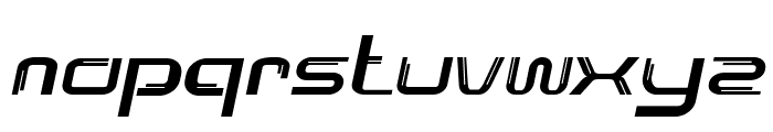 Lunarmax-BoldItalic Font LOWERCASE