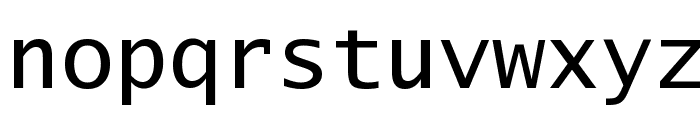 Lucida Console Font LOWERCASE