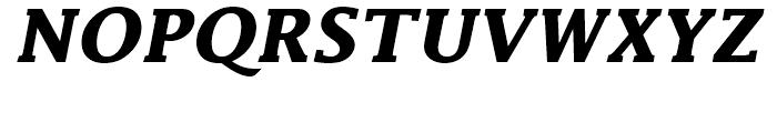 Lucida Bold Italic Font UPPERCASE