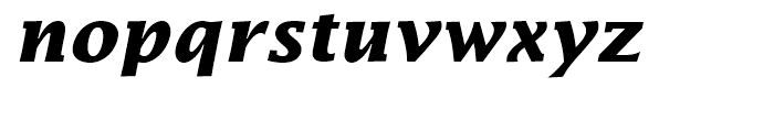 Lucida Bold Italic Font LOWERCASE