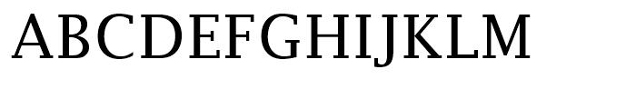 Lucida Fax Regular Font UPPERCASE