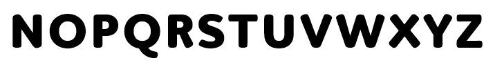 Luengo Extra Bold Font UPPERCASE