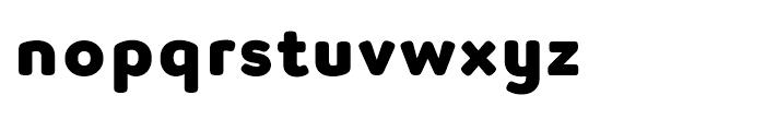 Luengo Extra Bold Font LOWERCASE