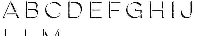Lulo Two Font LOWERCASE