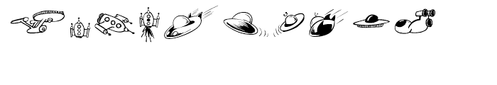 Lunar Twits Font OTHER CHARS