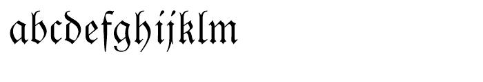Luthersche Fraktur Regular Font LOWERCASE