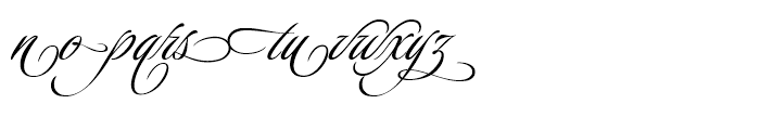 Luxurious Alternates Font LOWERCASE
