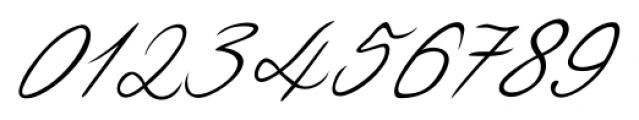 Luitpold Handwriting Regular Font OTHER CHARS