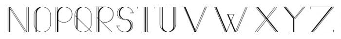 Lunar9 Regular Font UPPERCASE