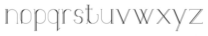Lunar9 Regular Font LOWERCASE