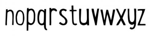 LunchBox Light Font LOWERCASE