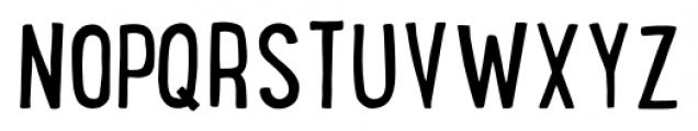 LunchBox Regular Font UPPERCASE