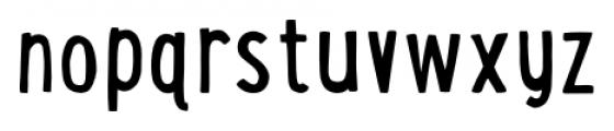 LunchBox Regular Font LOWERCASE