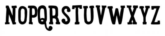 LunchBox Slab Bold Font UPPERCASE