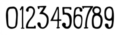 LunchBox Slab Light Font OTHER CHARS