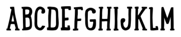 LunchBox Slab Regular Font UPPERCASE