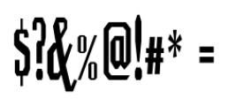 Luncheonette Regular Font OTHER CHARS