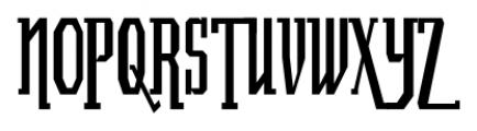 Luncheonette Regular Font UPPERCASE