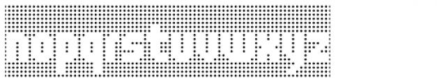 Lucecita Maniac Background Font LOWERCASE