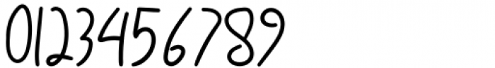 Luciana Regular Font OTHER CHARS
