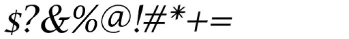 Lucida Cal T Italic Font OTHER CHARS