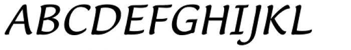 Lucida Casual Italic Font UPPERCASE