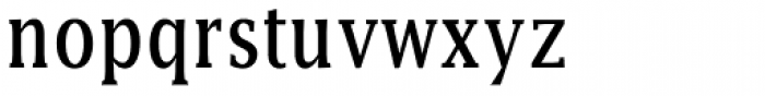 Lucida Cond Font LOWERCASE