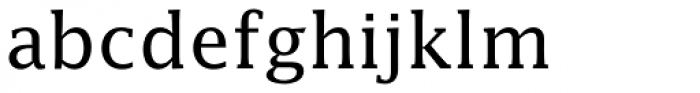 Lucida EF Roman Font LOWERCASE