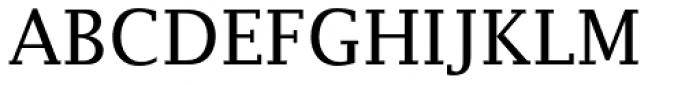 Lucida Fax EF Roman Font UPPERCASE