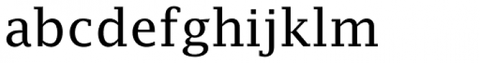 Lucida Fax EF Roman Font LOWERCASE