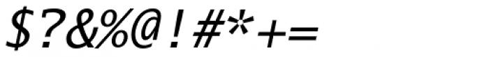 Lucida Mono EF Italic Font OTHER CHARS