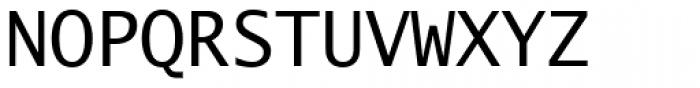 Lucida Mono EF Roman Font UPPERCASE