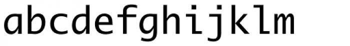 Lucida Mono EF Roman Font LOWERCASE