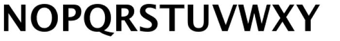 Lucida Sans EF Demi Bold Font UPPERCASE