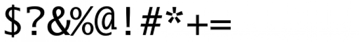 Lucida Sans Type EF Font OTHER CHARS
