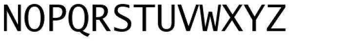 Lucida Sans Type EF Font UPPERCASE