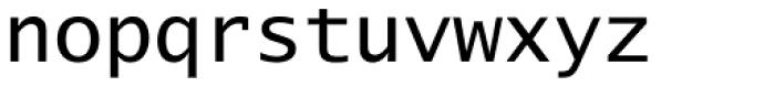 Lucida Sans Type EF Font LOWERCASE