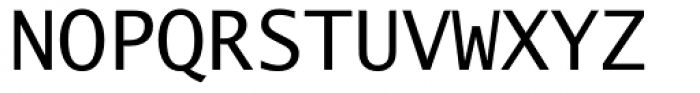 Lucida Sans Typewriter Font UPPERCASE